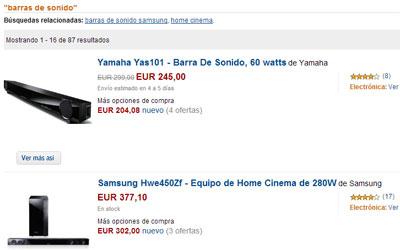 Comprar barra de sonido